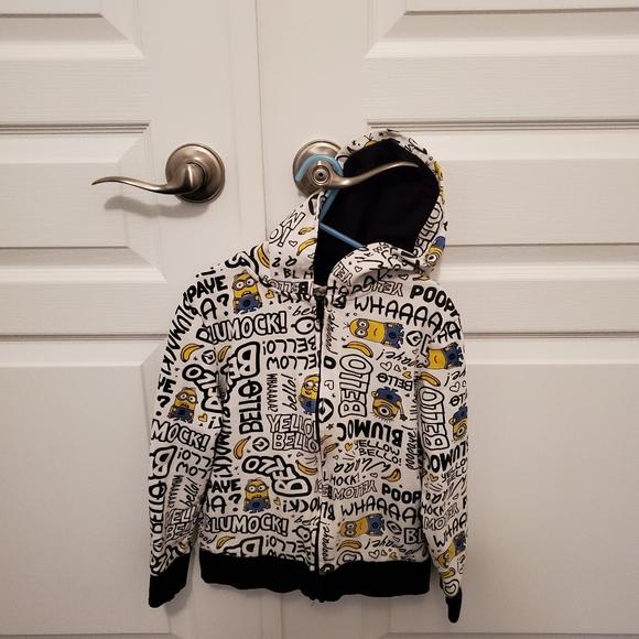 Boys H and M Zip up hoodie - READ Description